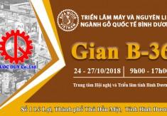 THƯ MỜI THAM DỰ TRIỂN LÃM BIFAWOOD VIỆT NAM 2018