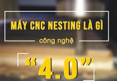 Máy cnc nesting là gì-Các dòng máy cnc router 1325 cắt ván công nghiệp