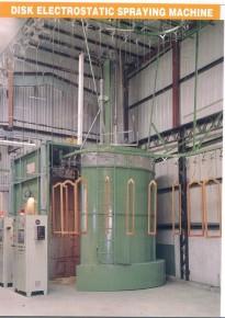 DISK ELECTROSTATIC SPRAYING MACHINE
