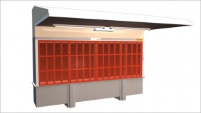 System sanding and dust collector
