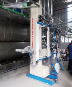 BELL ELECTROSTATIC SPRAYING MACHINE