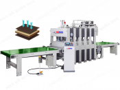 AUTOMATIC LOADING UNLOADING HOT PRESS MACHINE