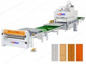 AUTOMATIC LAMINATED HOT PRESS PRODUCTION LINE