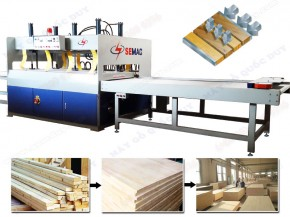 HIGH FREQUENCY WOOD PANEL PRESSING MACHINE