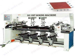 SIX-UNIT BORING MACHINE