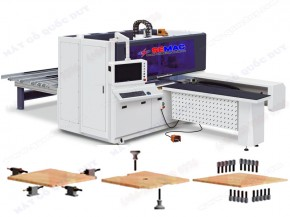 Automatic six-sides CNC drilling machine