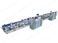 EDGE SANDING AND COATING AUTO PRODUCTION LINE