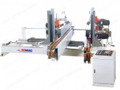 DOUBLE END SAW MACHINE