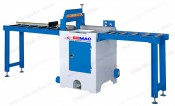 AUTOMATIC CUT OF SAW WITH ROLLER