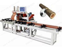 AUTO LOG CUTTING OFF SAW & AUTO LOG CONVEYOR