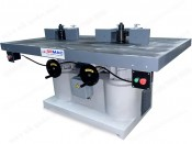 DOUBLE SPINDLES SHAPER FOR HEAVY DUTY
