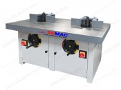 DOUBLE SPINDLES SHAPER MACHINE