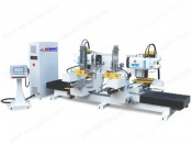 CNC DOUBLE END MORTISING MACHINE WITH DIFFERENT SHAPE
