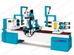 DOUBLE AXIS AUTOMATIC CNC WOOD LATHE