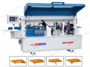 APPLIES THE FULL-AUTOMATIC EDGE BANDING MACHINE