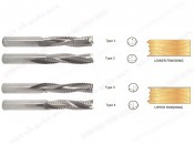 TUNGSTEN CARBIDE 3 FLUTES ROUNGHING END MILLS